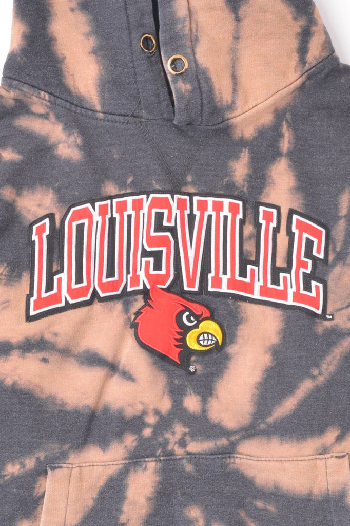 University of Louisville Tie Dye Hoodie