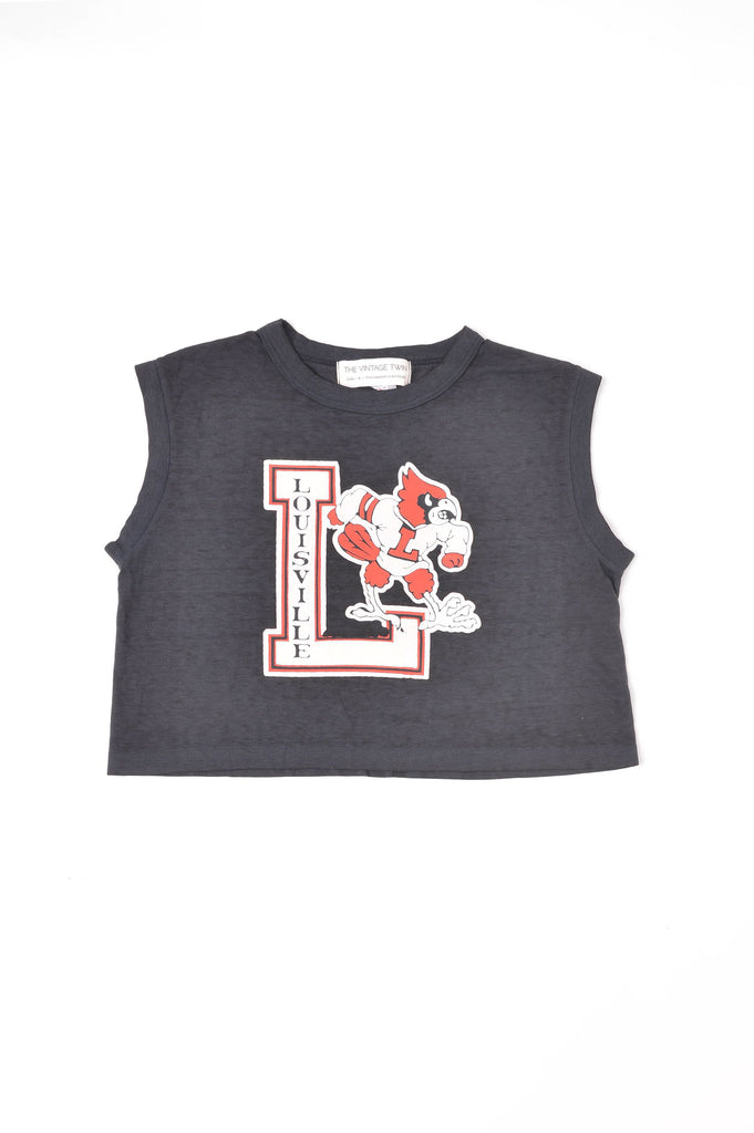 Cropped University of Louisville Tee