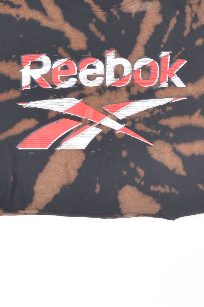 Cropped Reebok Hand-Dyed Tee