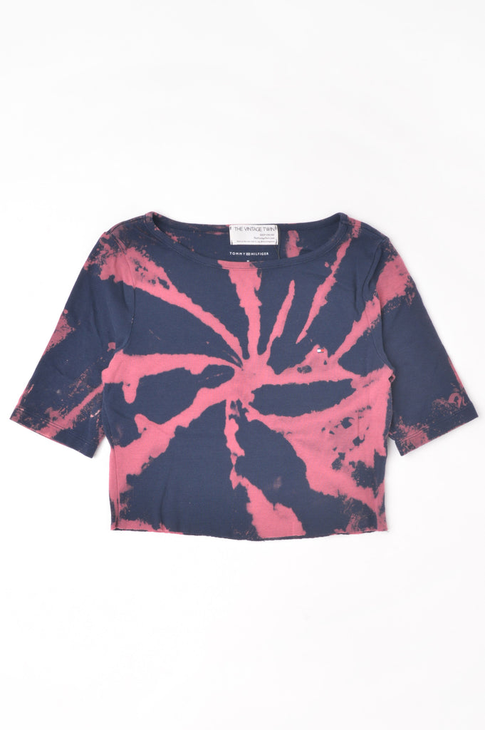 Cropped Tommy Hilfiger Hand-Dyed Tee