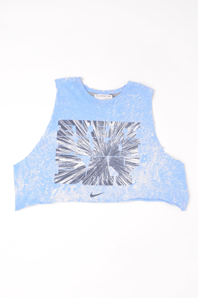 Cropped Nike Hand-Dyed Muscle Tee