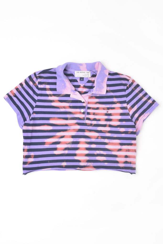 Cropped Tommy Hilfiger Hand-Dyed Polo