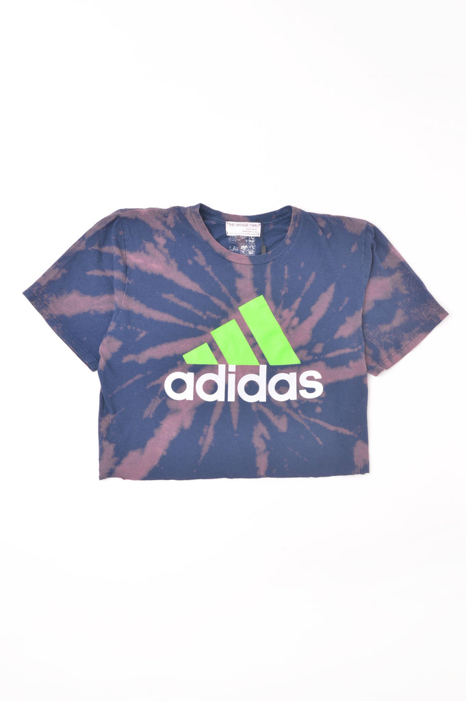 Cropped Adidas Tie Dye Tee