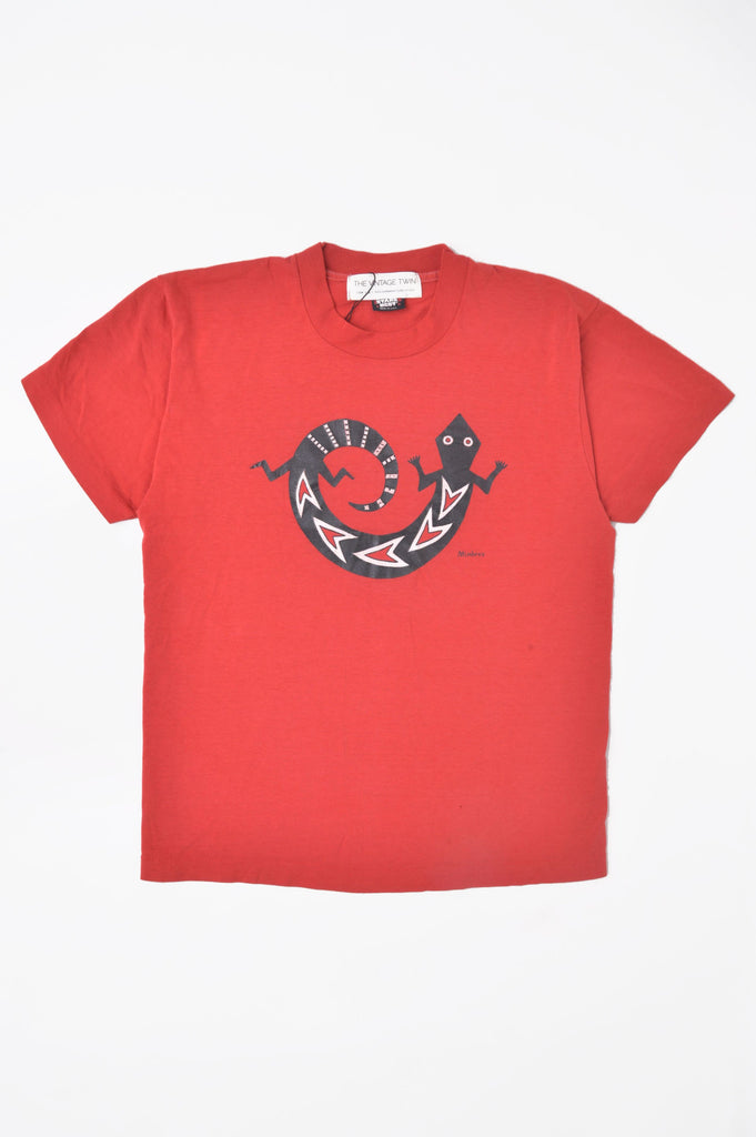 Southwest Red Lizard Tee
