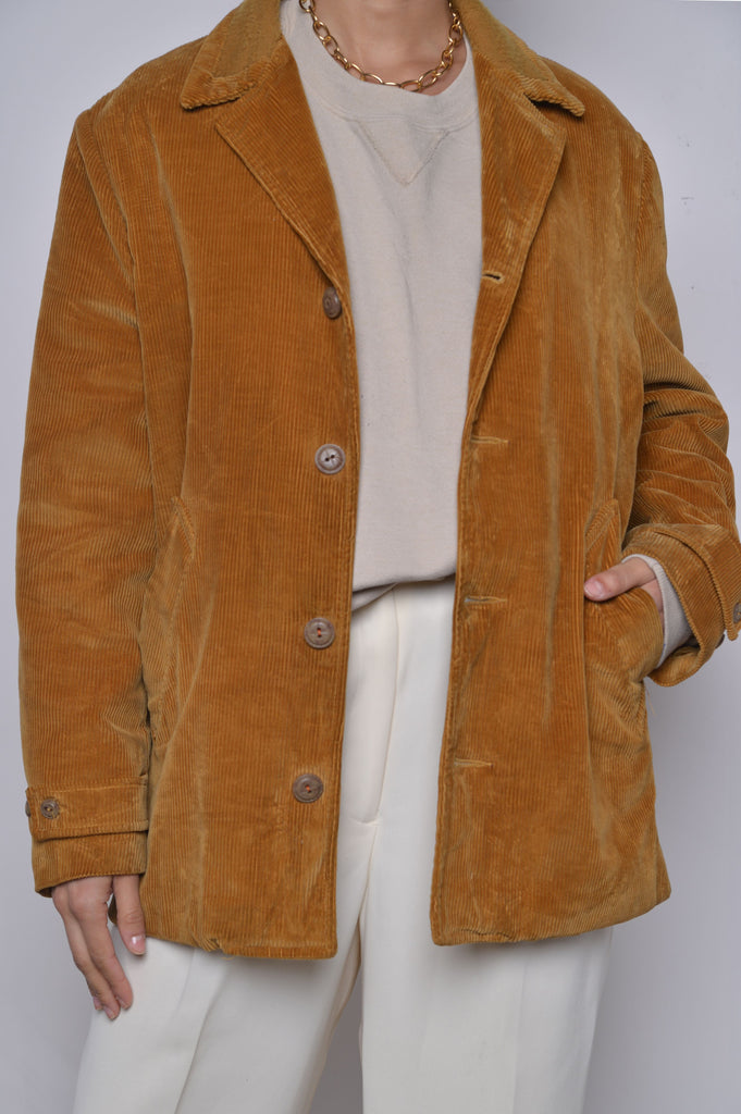1970s Sherpa Lined Corduroy Jacket