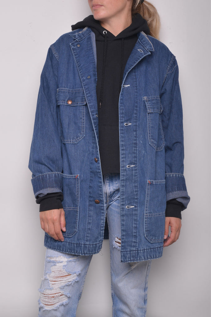 1960s Denim Work Jacket