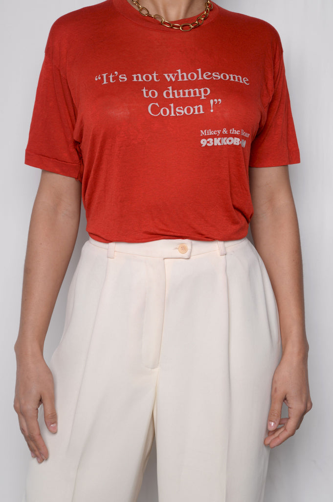Not Wholesome Semi-Sheer Tee