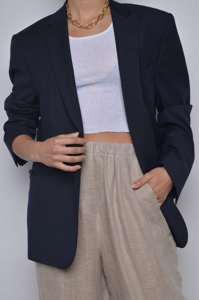 Midnight Navy Blazer