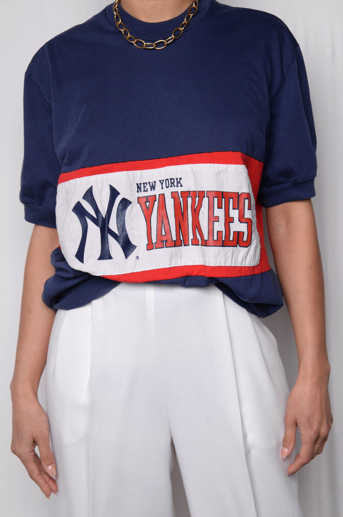 Yankees Short Sleeve Sweatshirt