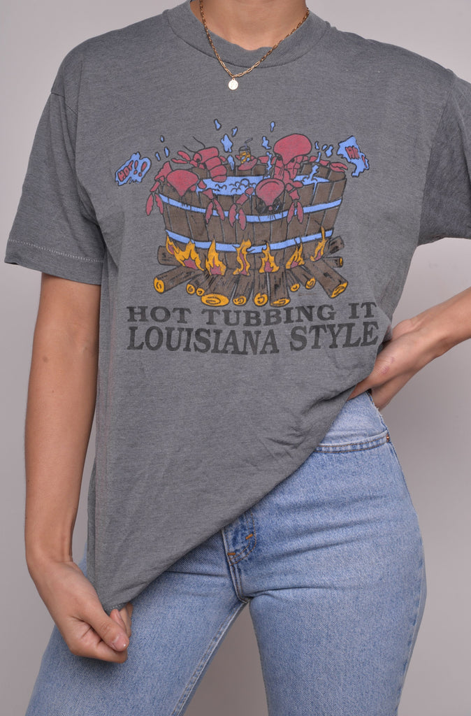 Louisiana Hot Tubbing Tee