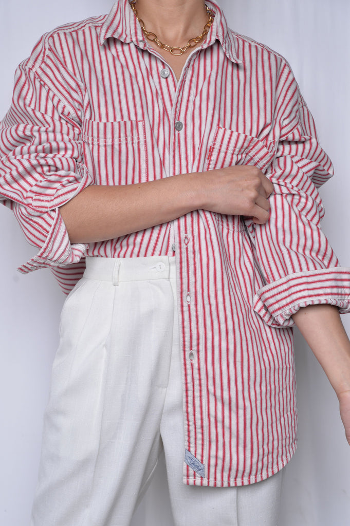 Striped Levi's Button Down