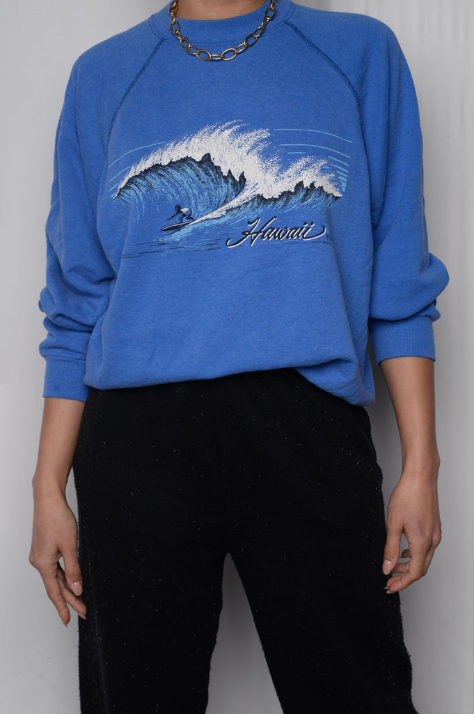 Hawaii Surf Sweatshirt