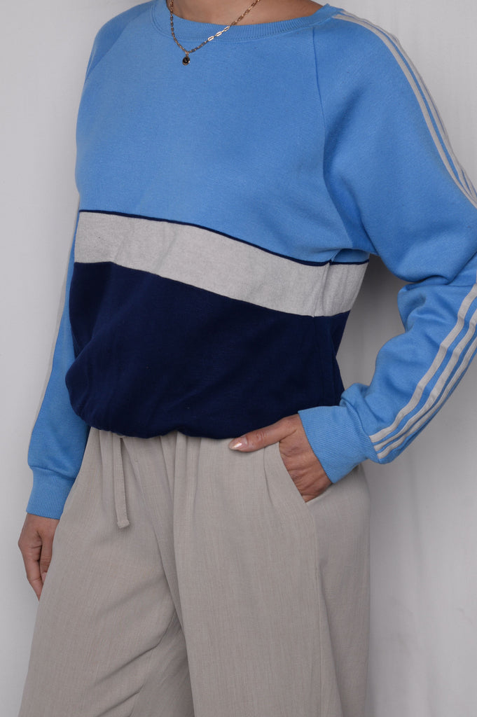Crazy Soft Colorblock Sweatshirt