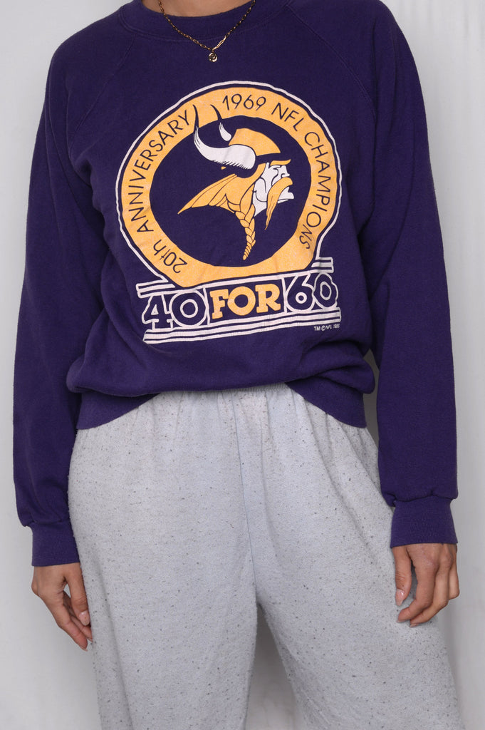 Vikings Crazy Soft Sweatshirt