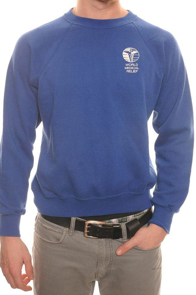 Blue World Medical Relief Sweatshirt