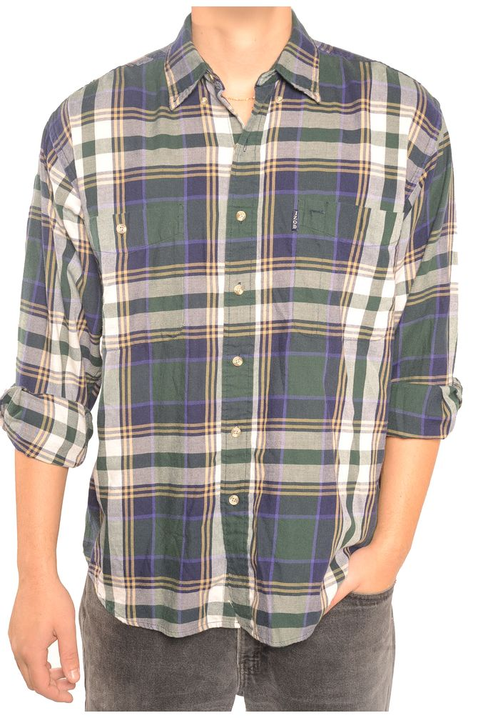 Izod Plaid Flannel Shirt