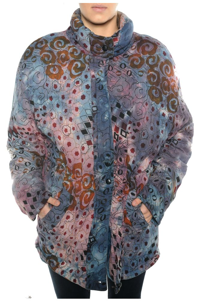 Abstract Pattern Coat