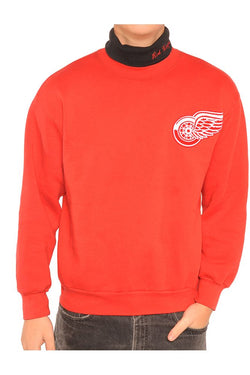 Detroit Red Wings Turtleneck Sweatshirt