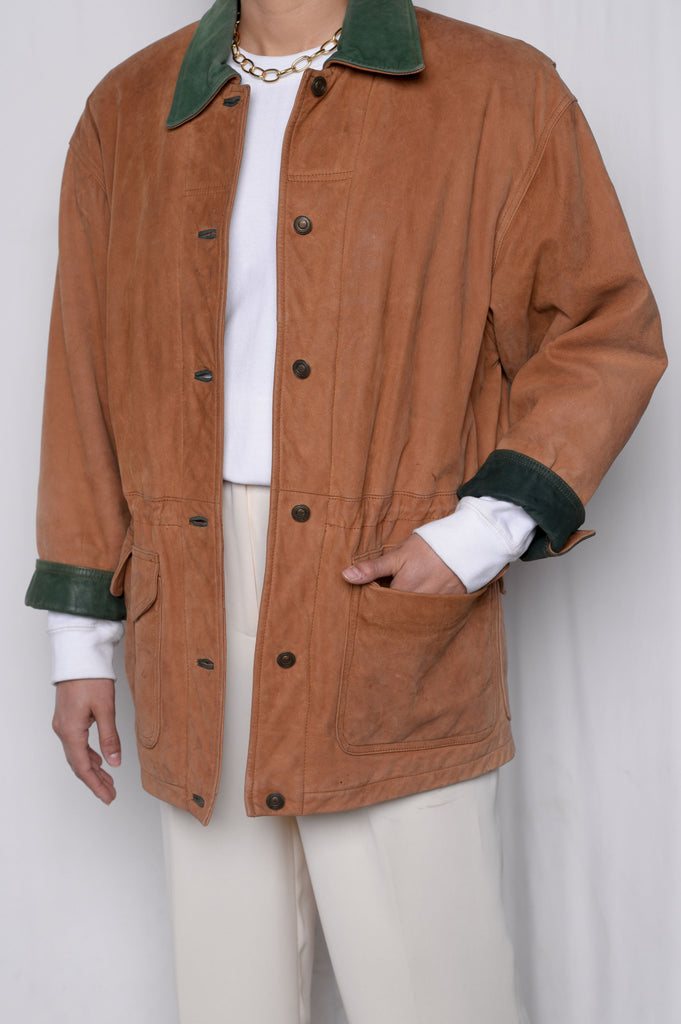 Whiskey Suede Field Jacket