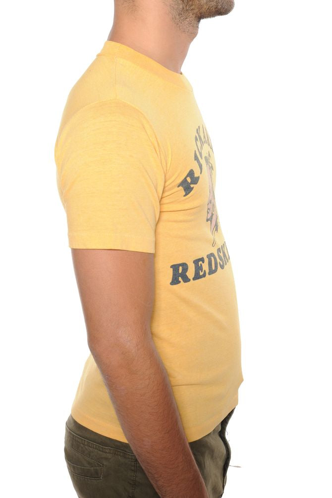 Yellow Rickards Redskins Tee