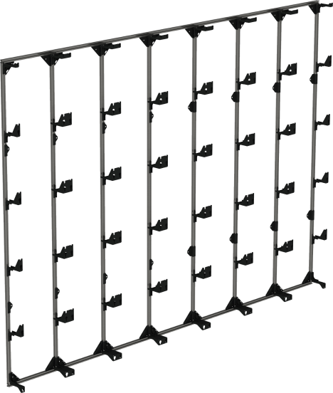 Flat LED Video Wall Mount