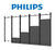 Flat Video Wall Mount for Philips 27BDL Series Direct View LED Displays