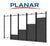Flat Wall Mount for Planar TVF Series Direct View LED Displays
