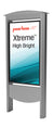 "Outdoor Smart City Kiosks with 49"" or 55"" Xtreme<sup>TM</sup> High Bright Outdoor Display"