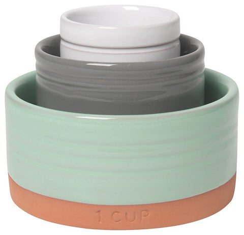 Teracotta Nesting Prep Bowl Set, set of 3