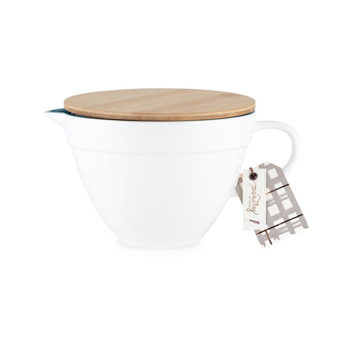 Pantry: Ceramic Batter Bowl with Lid by Twine®