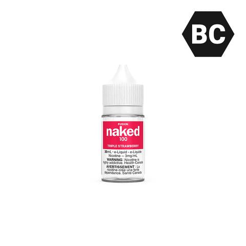 Naked 100 Fusion - Triple Strawberry
