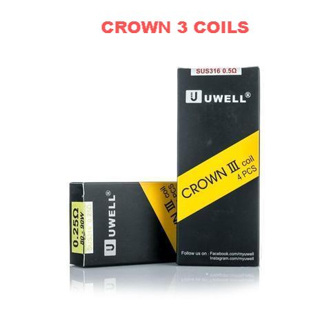 UWELL - Crown 3 Coils (4-Pack)