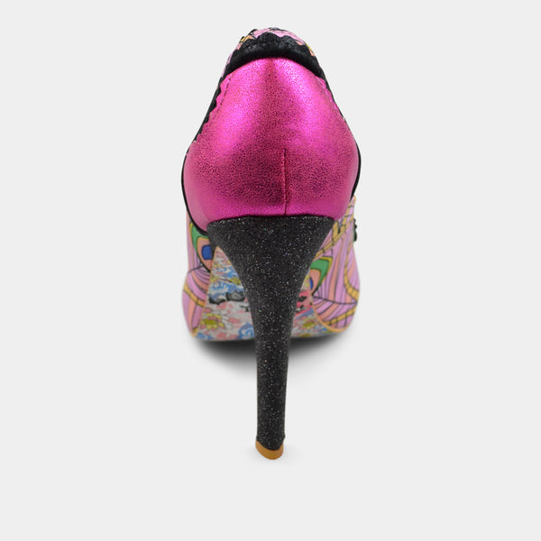 IRREGULAR CHOICE LOREN LOVE IN PINK
