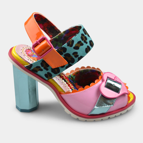 IRREGULAR CHOICE 4525 IN LIGHT BLUE