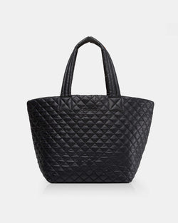 MZ WALLACE MEDIUM METRO TOTE IN BLACK