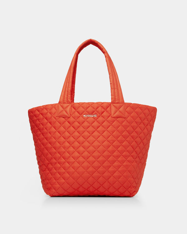 MZ WALLACE MEDIUM METRO TOTE IN MARIGOLD