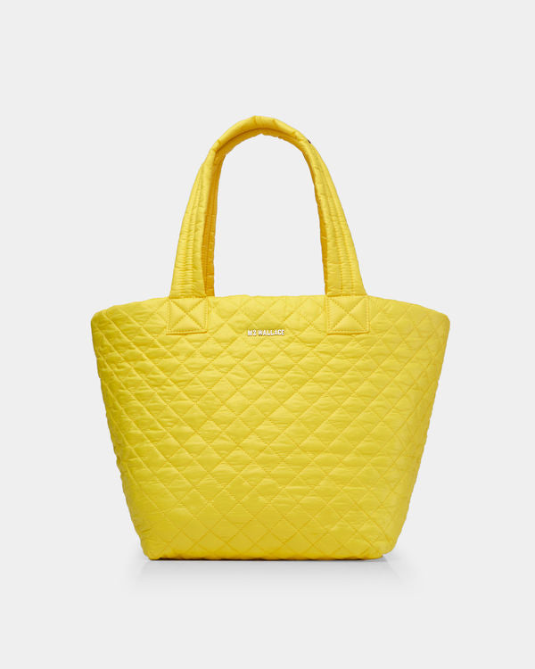 MZ WALLACE MEDIUM METRO TOTE IN DAFFODIL