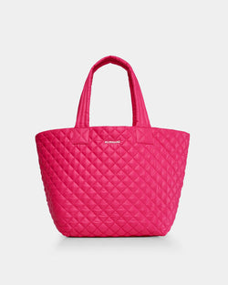 MZ WALLACE MEDIUM METRO TOTE IN DRAGON FRUIT