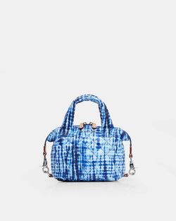 MZ WALLACE MICRO SUTTON IN SHIBORI PRINT