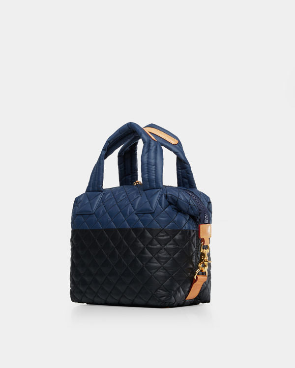 MZ WALLACE SMALL SUTTON IN NAVY/BLACK