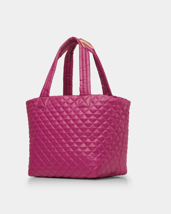 MZ WALLACE MEDIUM METRO TOTE IN ZINNIA