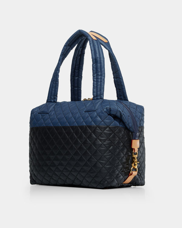 MZ WALLACE LARGE SUTTON IN NAVY/BLACK