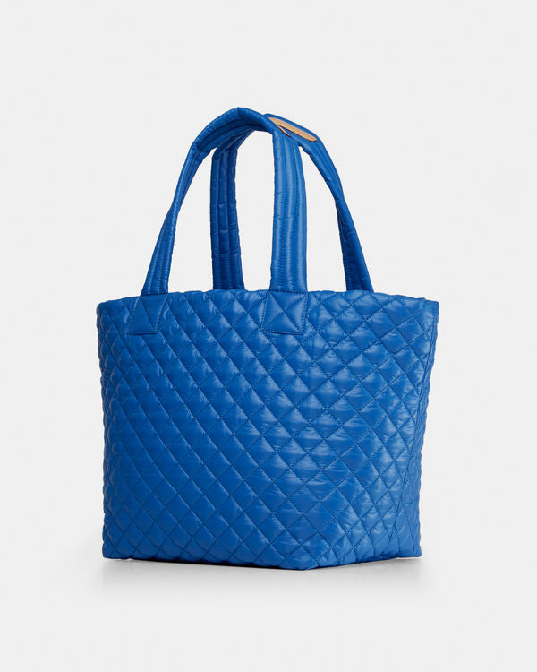 MZ WALLACE MEDIUM METRO TOTE IN TAHITI BLUE