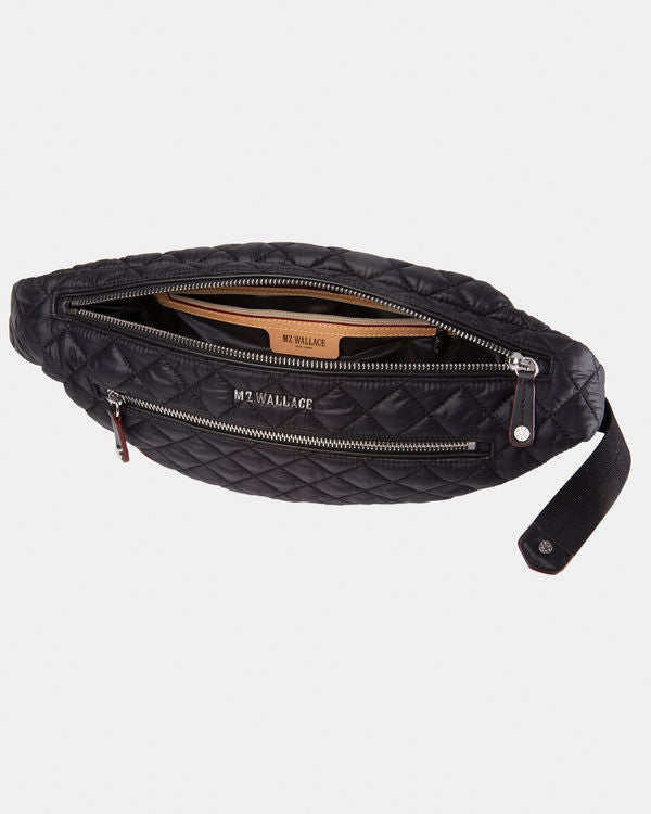 MZ WALLACE CROSBY BELT BLACK IN BLACK