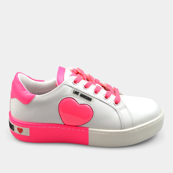SNEAKERS LOVE MOSCHINO IN PINK