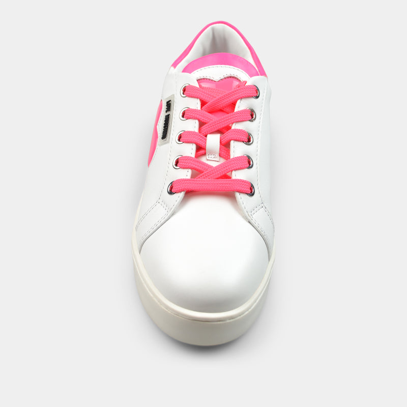MOSCHINO LOVE SNEAKERS IN PINK