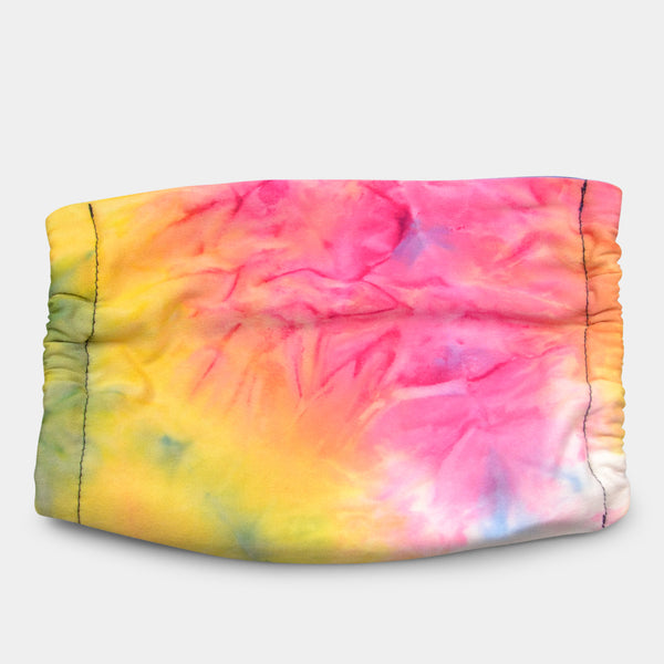COLORFUL TIE DYE FACE MASK
