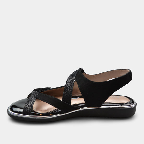 BEAUTIFEEL ROBIN WOMEN'S SANDAL BLACK