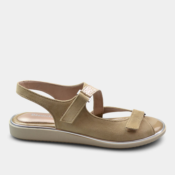BEAUTIFEEL ROBIN WOMEN'S SANDAL BEIGE