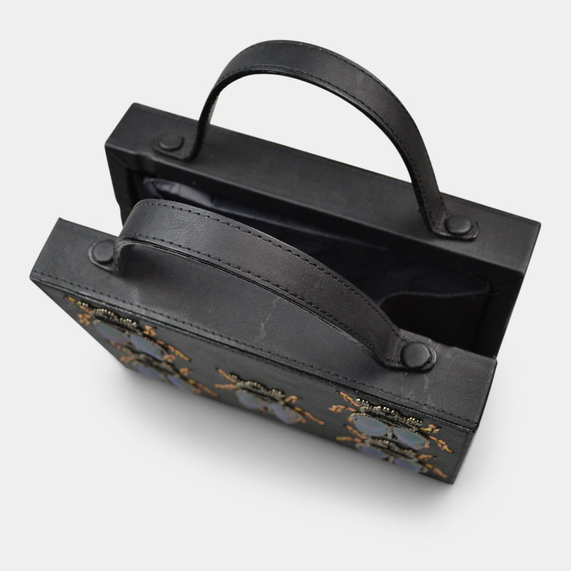 SIMITRI BLACK BUGGED BRIEFCASE